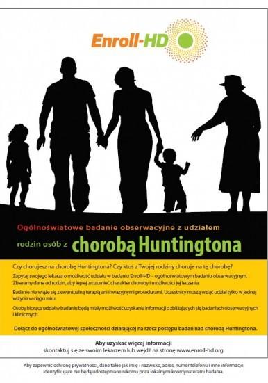 Choroba Huntingtona (pląsawica) - akcja NFZ